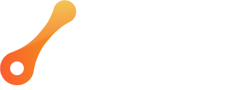 Psoda logo white and orange