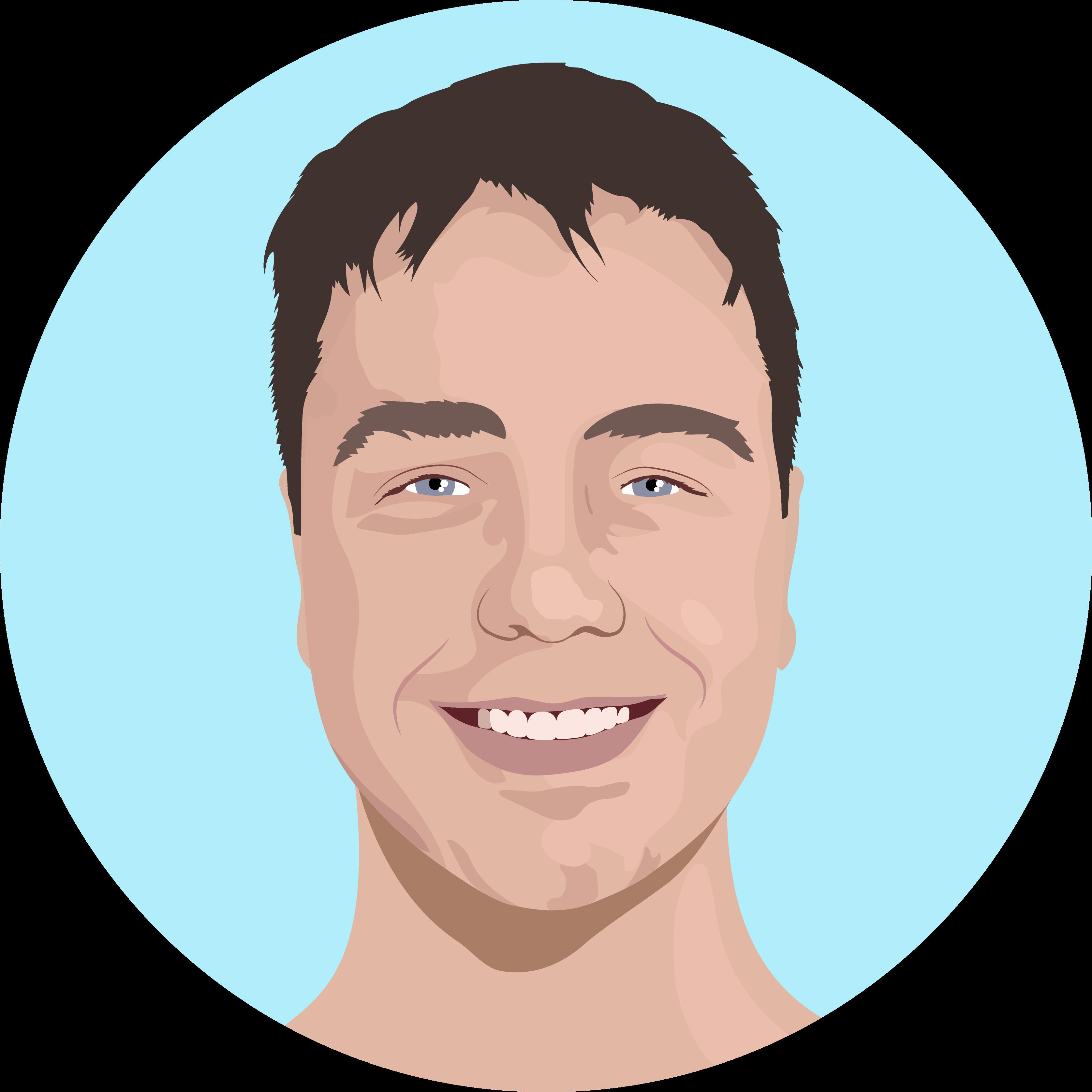 Animated photo of Psoda member Bruce Aylward