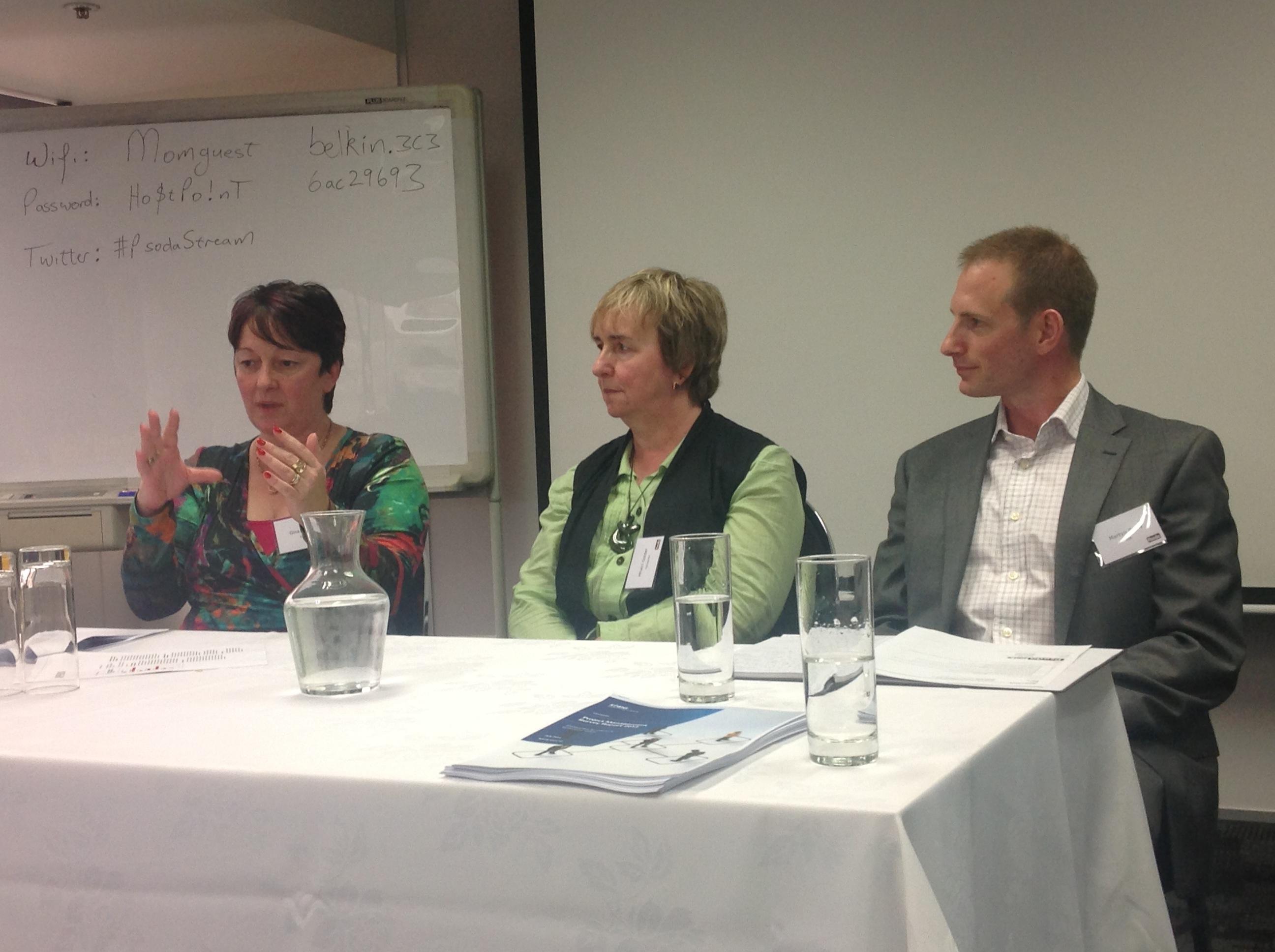 PPM and PMOs: Gina Barlow, Mhairi Golder & Steve Scrivener