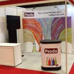 The Psoda stand at cloud expo asia