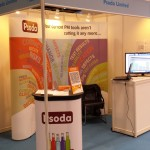 Psoda stand at the Hong Kong ICT Expo