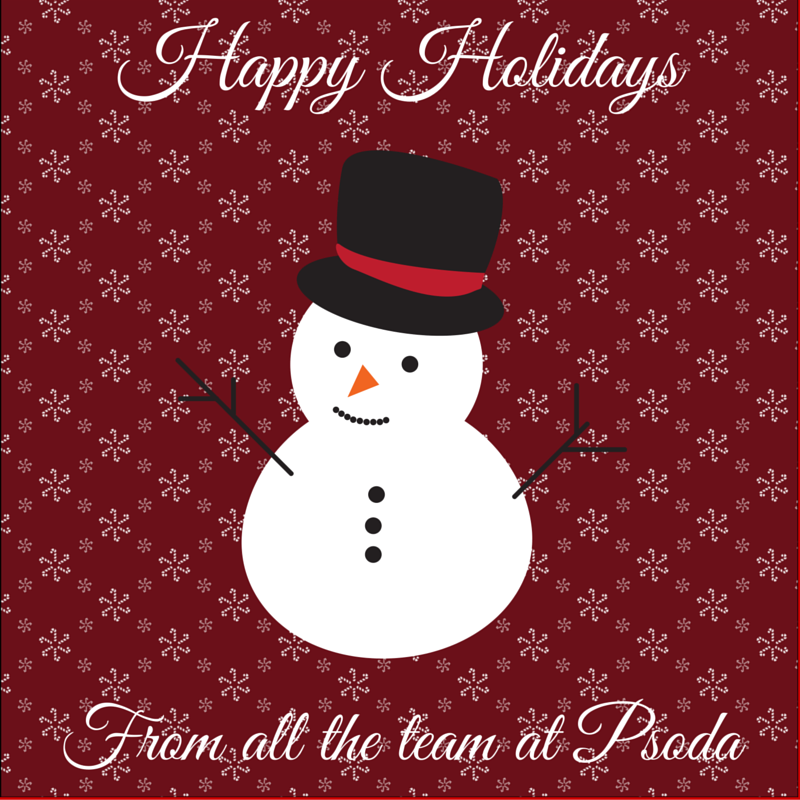 Happy holidays from Psoda