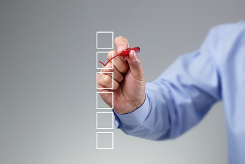 Project requirements checklist