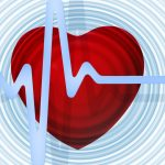 Project health check - a beating heart with an ECG trace