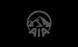Psoda home page - grey AIA logo