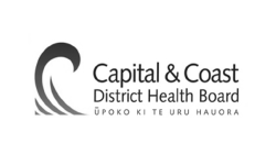 Psoda home page - grey Capital and Coast District Health Board logo