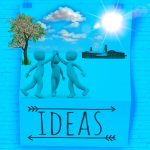Project Business Case: Ideas with people high fiving each other