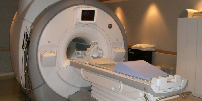 Case studies page - an MRI scanner