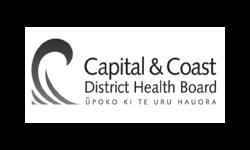 Capital & Coast District Health Board logo grey