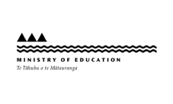 Ministry of Education logo grey