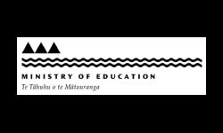 Ministry of Education logo grey